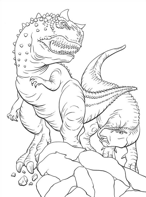 Dinosauro da colorare 26