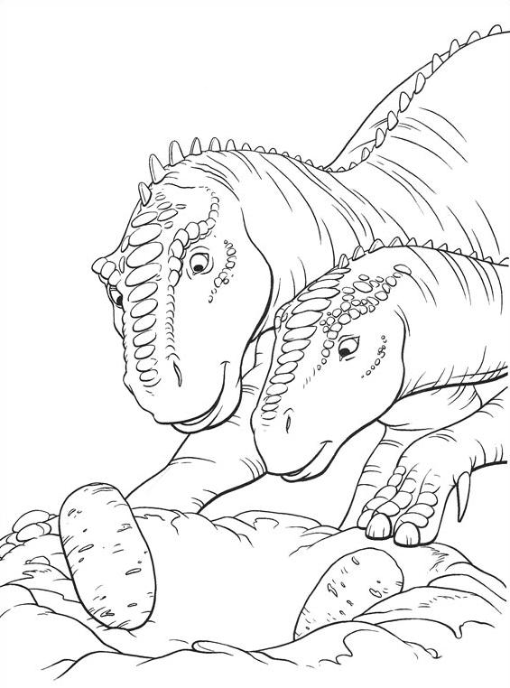 Dinosauro da colorare 29