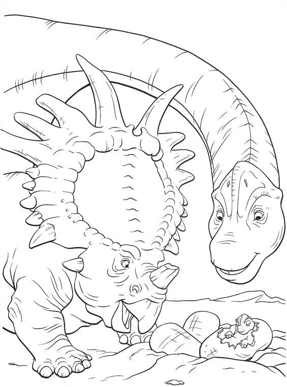 Dinosauro da colorare 30