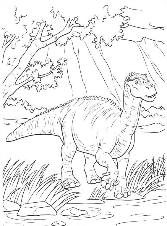 Dinosauro da colorare 32