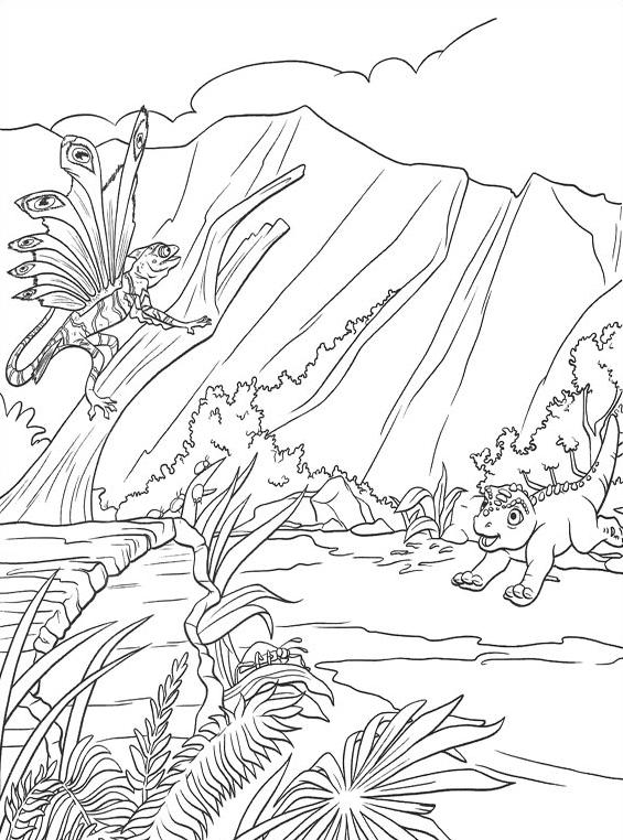 Dinosauro da colorare 33