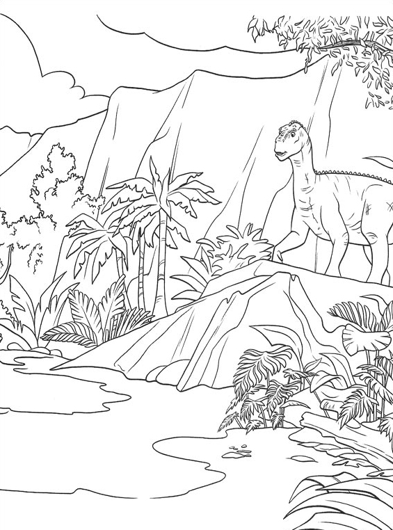 Dinosauro da colorare 34