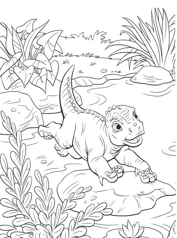 Dinosauro da colorare 38
