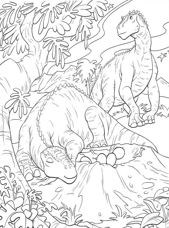 Dinosauro da colorare 39