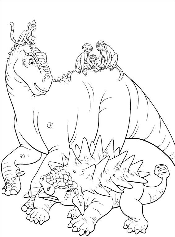 Dinosauro da colorare 40
