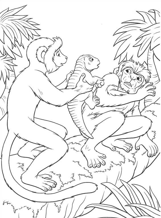 Dinosauro da colorare 43