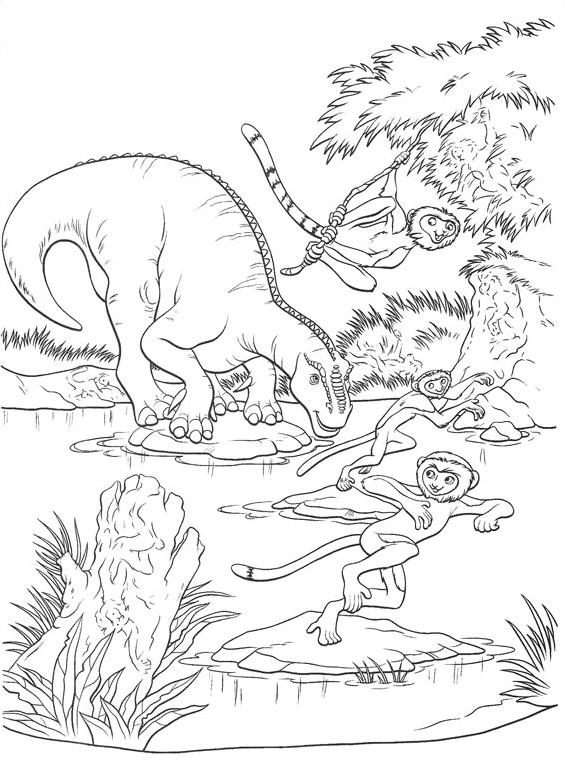 Dinosauro da colorare 45