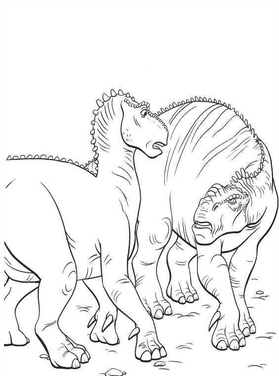 Dinosauro da colorare 48