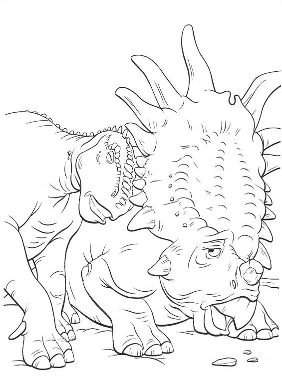 Dinosauro da colorare 50