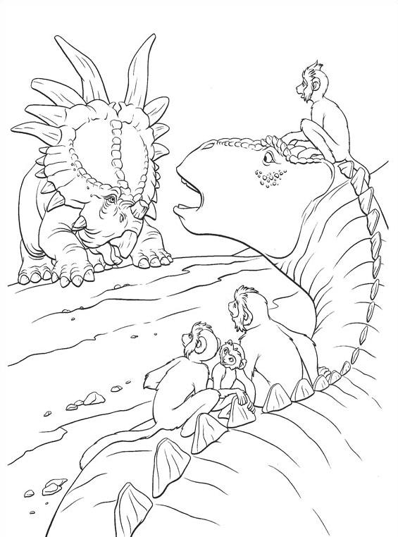 Dinosauro da colorare 55
