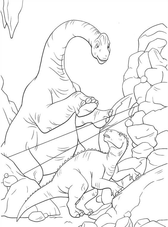 Dinosauro da colorare 58