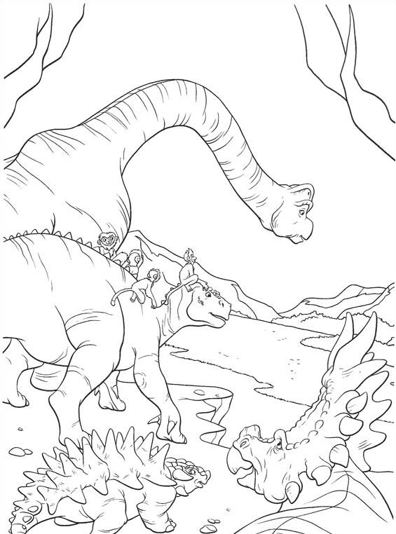 Dinosauro da colorare 59