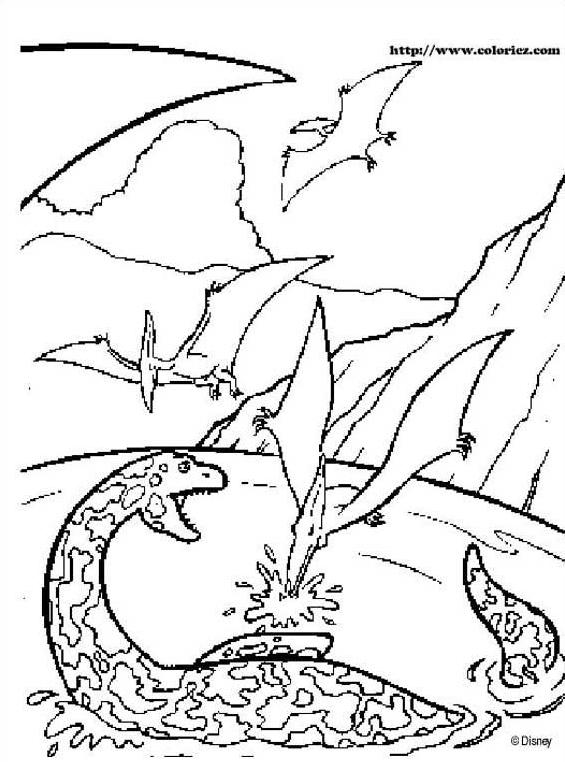 Dinosauro da colorare 70