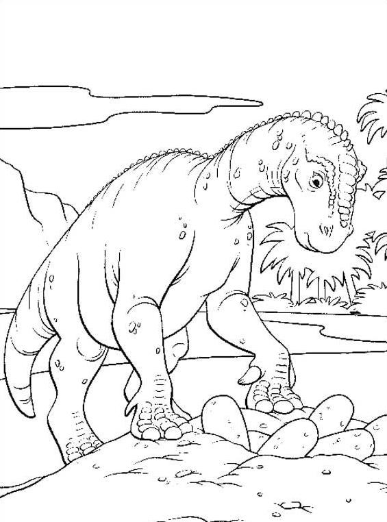 Dinosauro da colorare 76