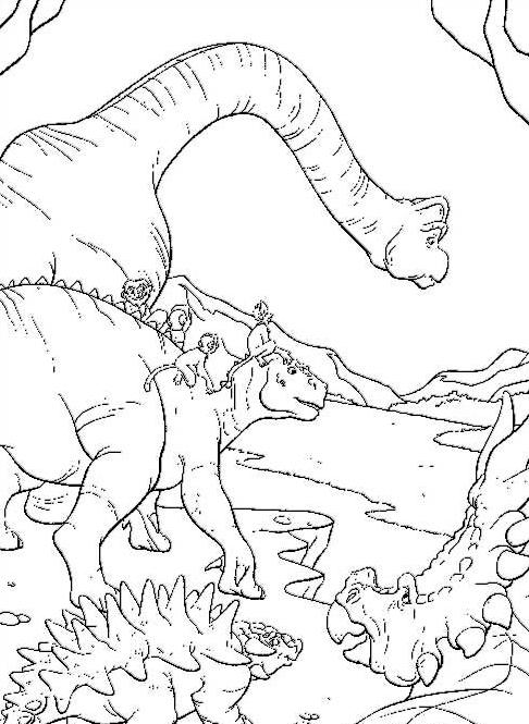 Dinosauro da colorare 80