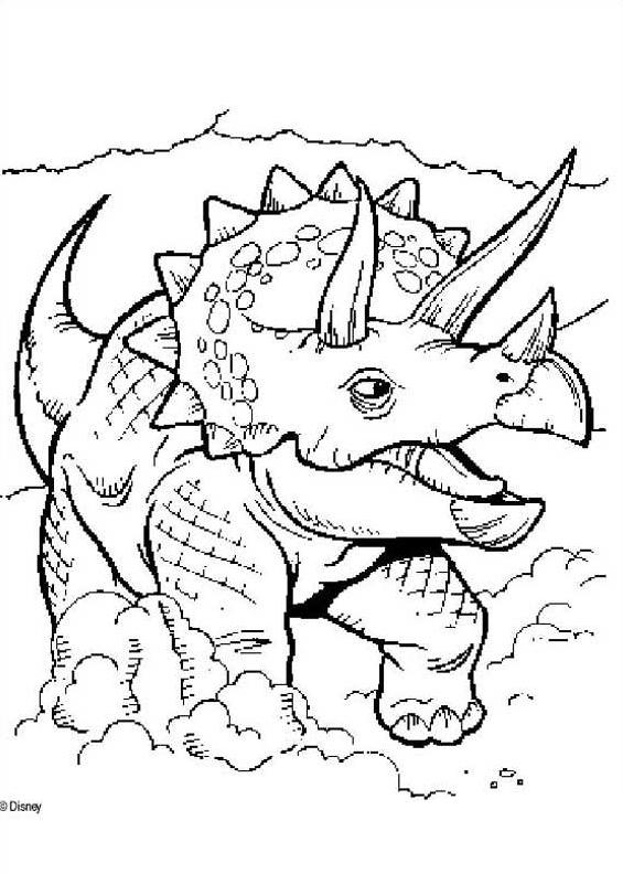 Dinosauro da colorare 85