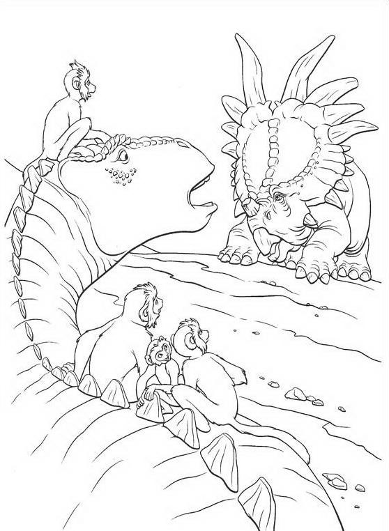 Dinosauro da colorare 91