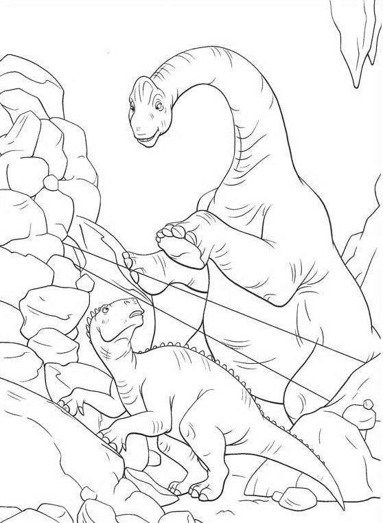 Dinosauro da colorare 92