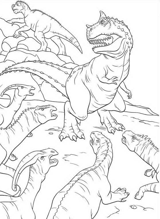 Dinosauro da colorare 96