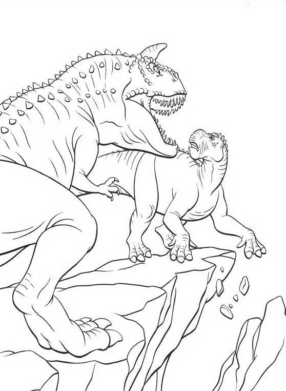 Dinosauro da colorare 97