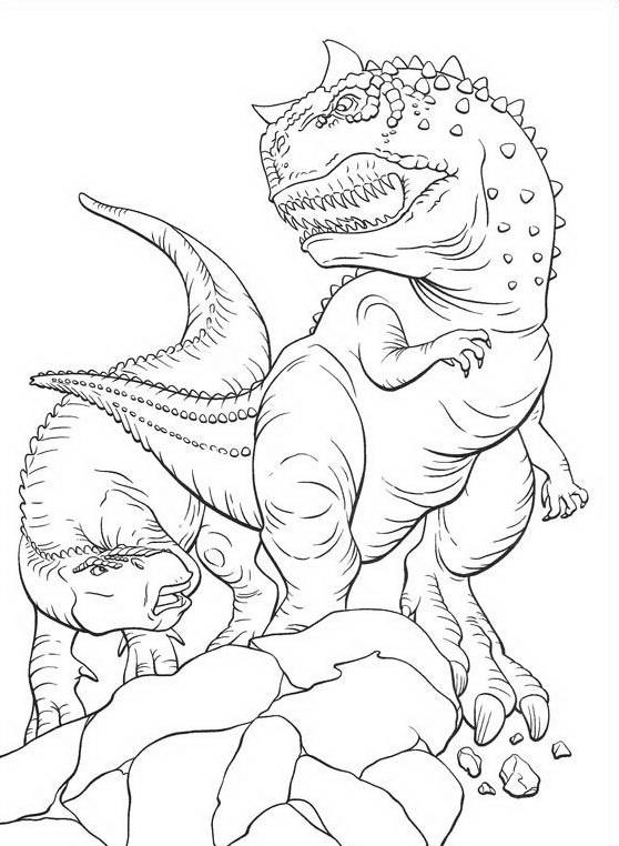 Dinosauro da colorare 98
