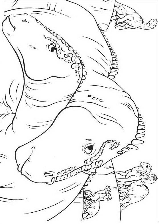Dinosauro da colorare 99