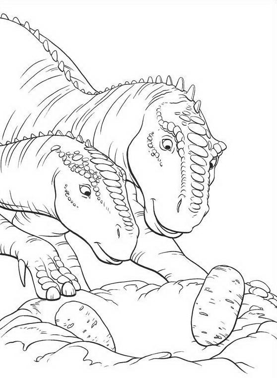 Dinosauro da colorare 101