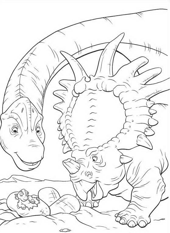 Dinosauro da colorare 102