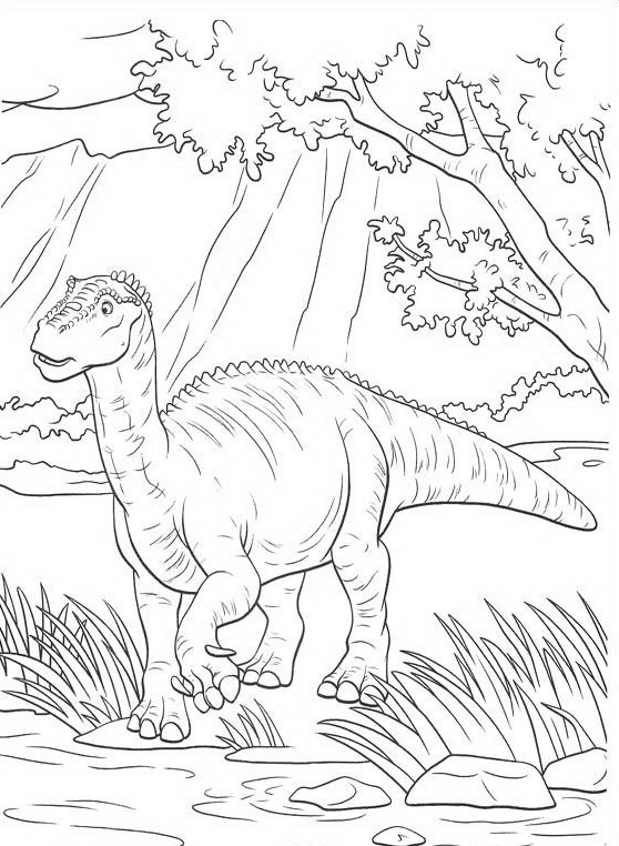 Dinosauro da colorare 104