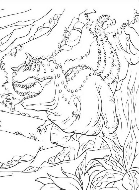 Dinosauro da colorare 105