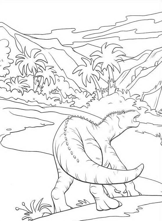 Dinosauro da colorare 106
