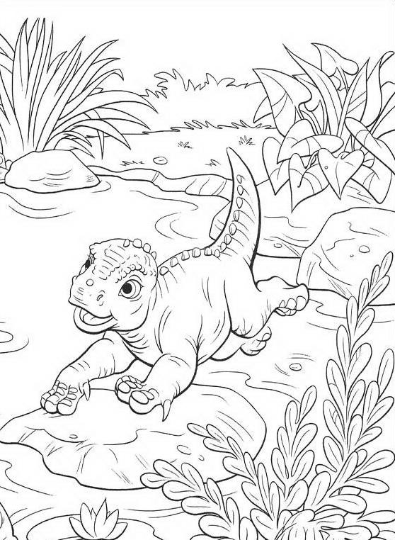 Dinosauro da colorare 107