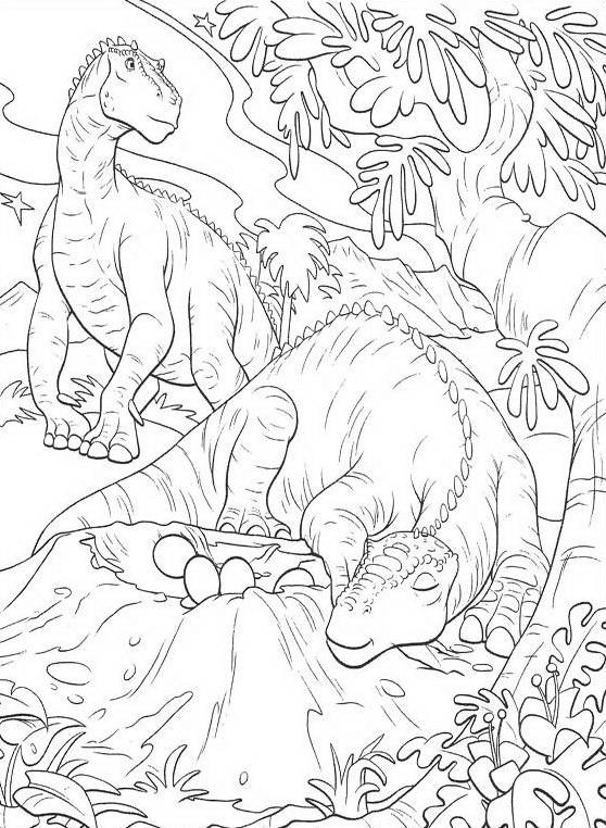 Dinosauro da colorare 108