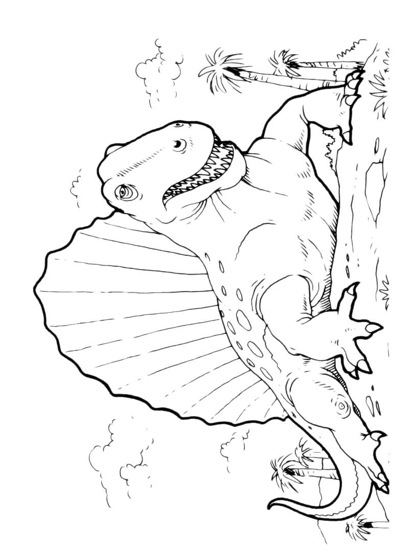 Dinosauro da colorare 121