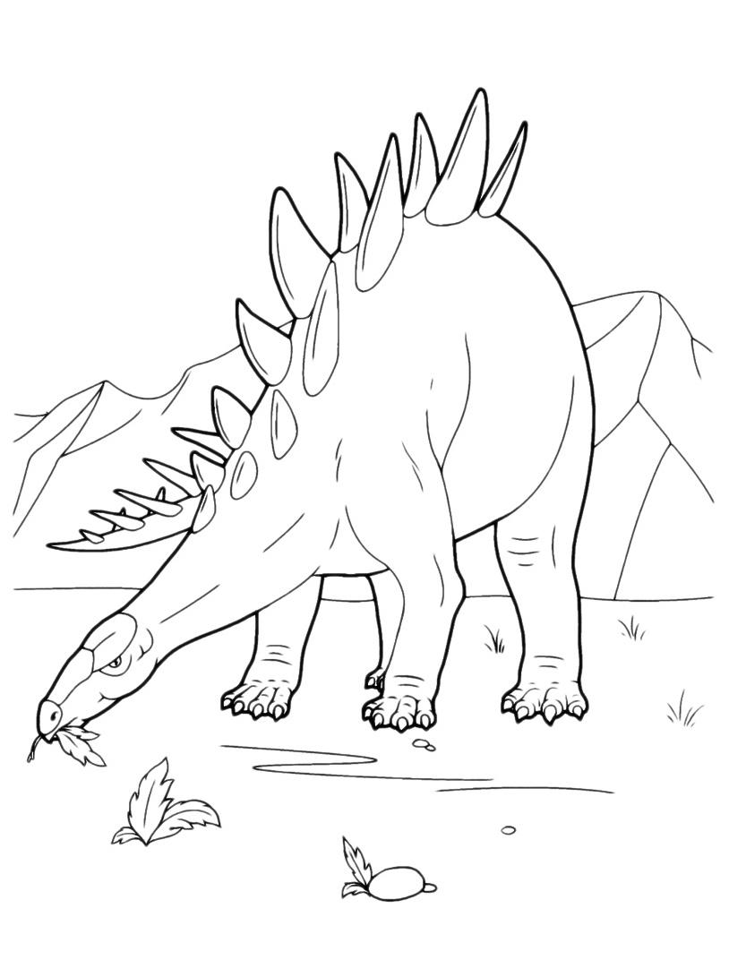 Dinosauro da colorare 126