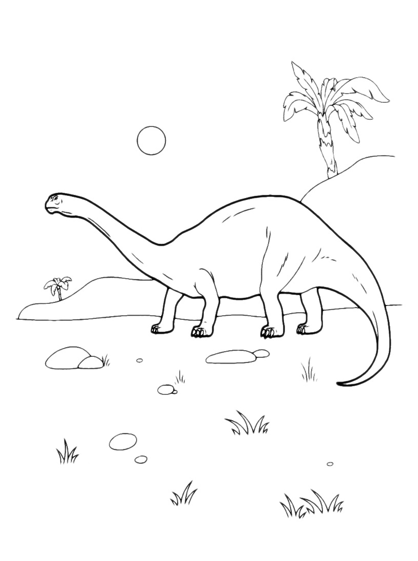 Dinosauro da colorare 127