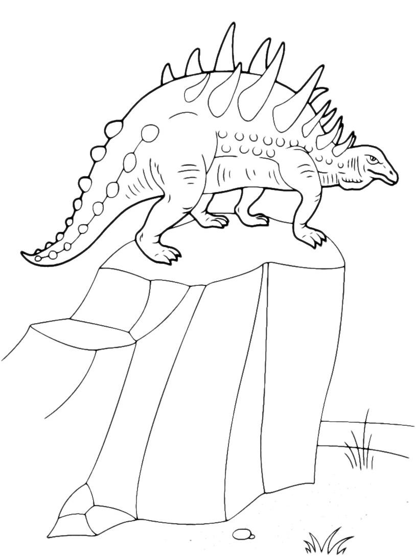 Dinosauro da colorare 129