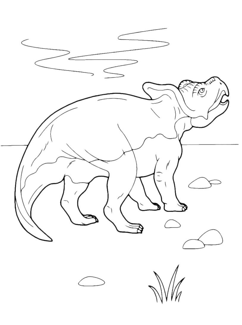 Dinosauro da colorare 130