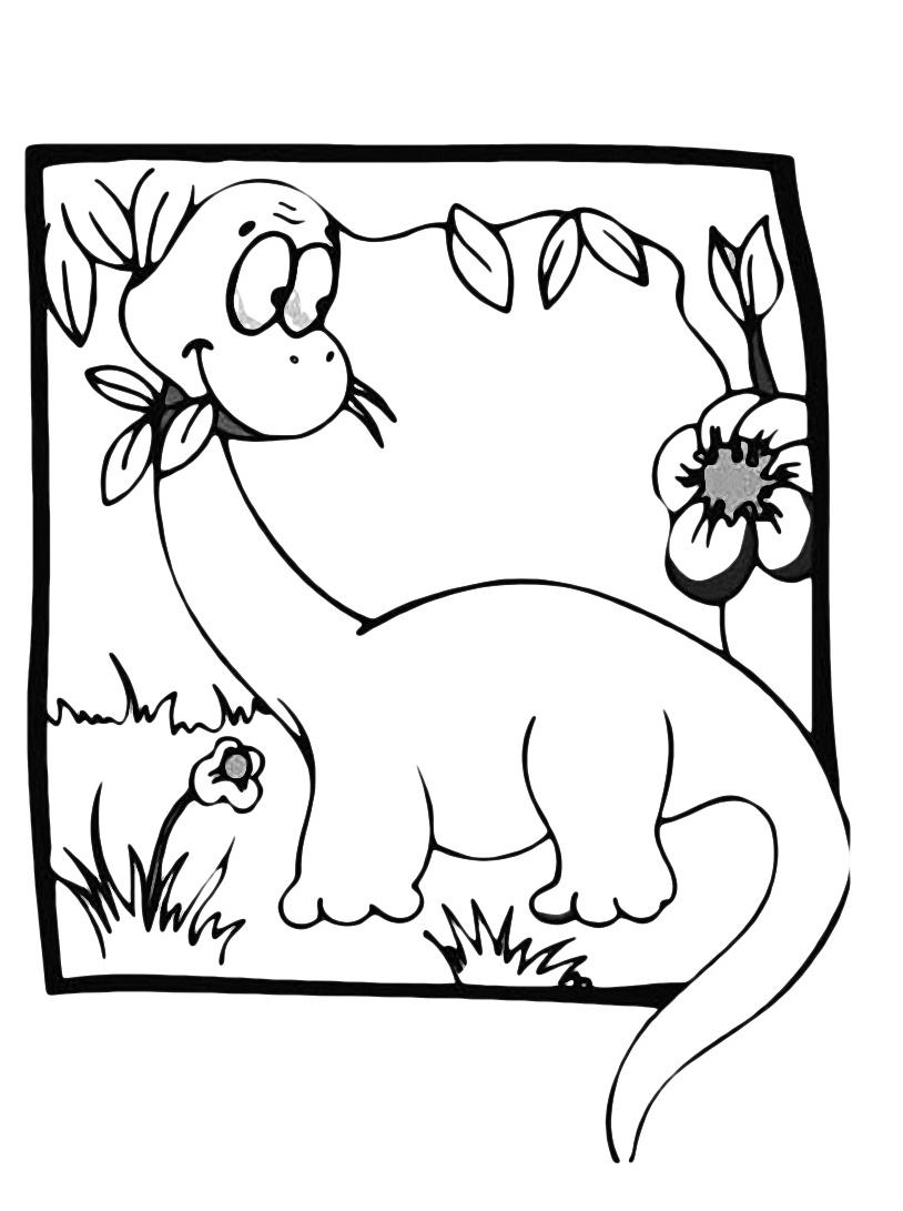 Dinosauro da colorare 139