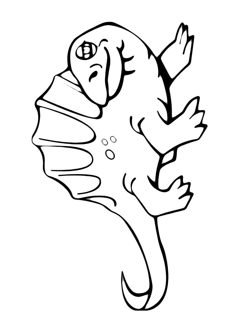 Dinosauro da colorare 142