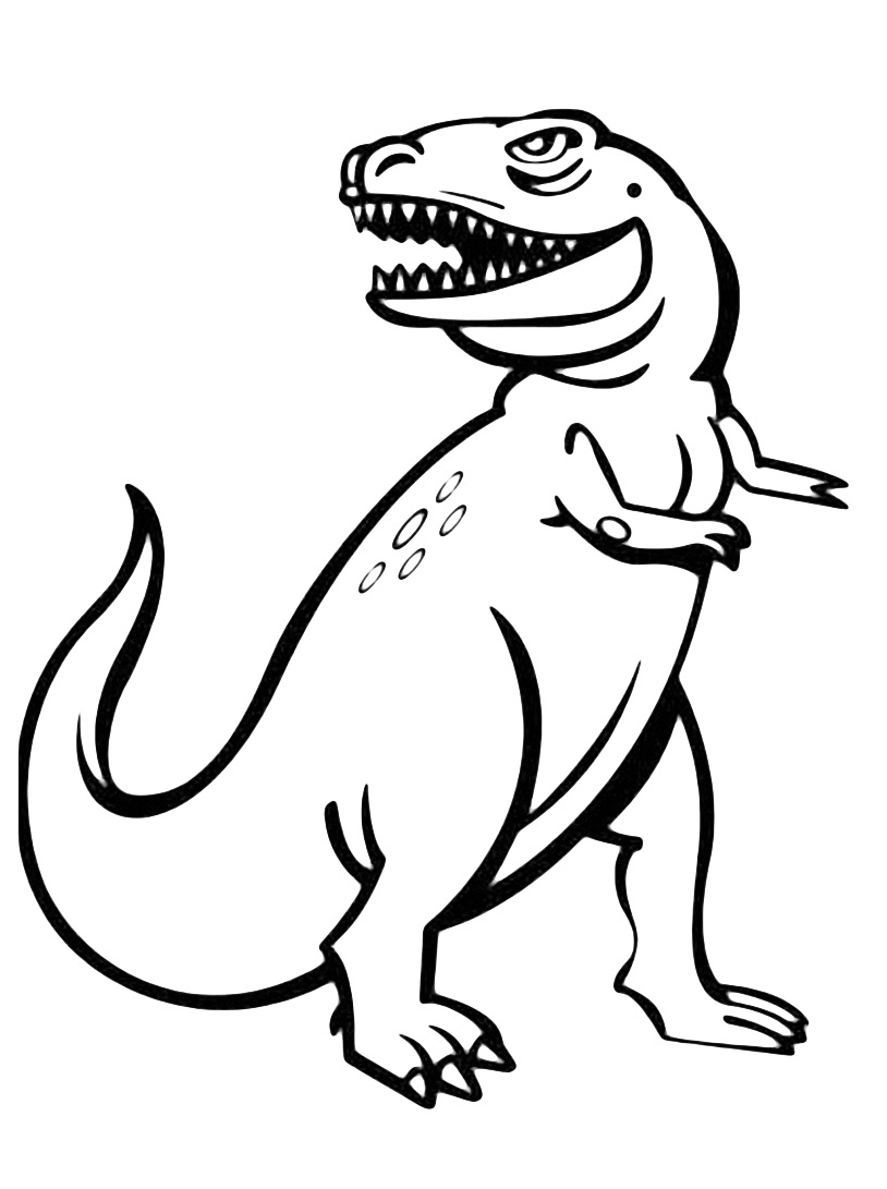 Dinosauro da colorare 145