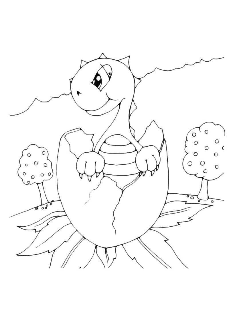 Dinosauro da colorare 147