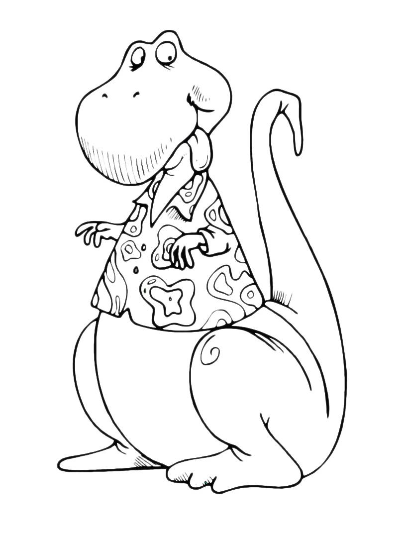 Dinosauro da colorare 148