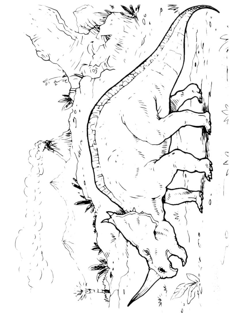 Dinosauro da colorare 154