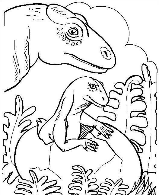 Dinosauro da colorare 157