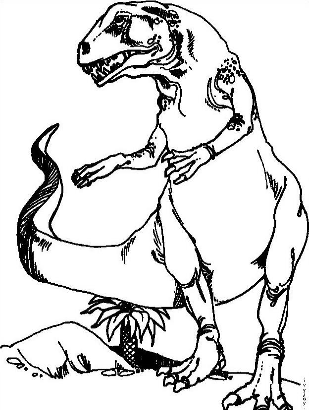 Dinosauro da colorare 159