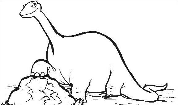 Dinosauro da colorare 168