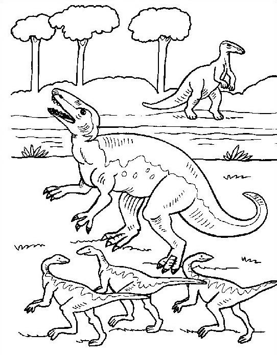 Dinosauro da colorare 169