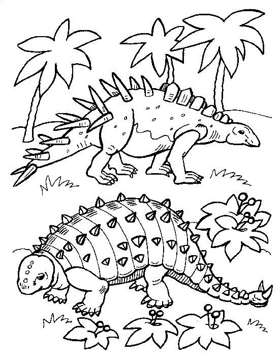 Dinosauro da colorare 171