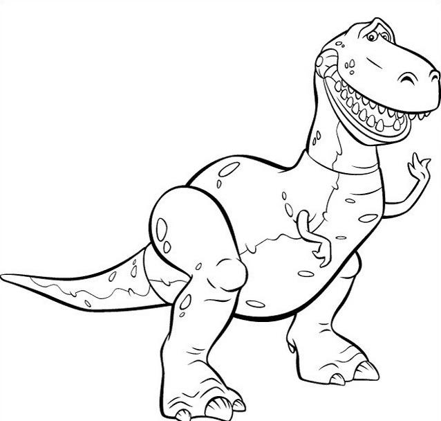 Dinosauro da colorare 172